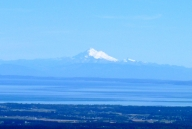 Mount Baker on Vancouver Island