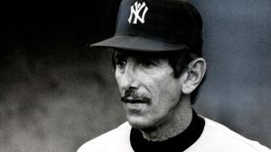 Former NY Yankees manager, Billy Martin