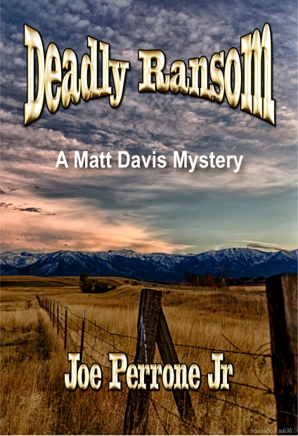 #1 Front Cover Deadly Ransom