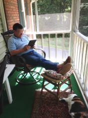 Still reading at age 71